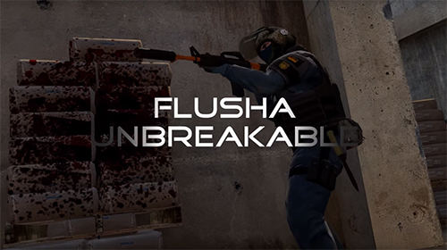 ムービー『CS:GO flusha - Unbreakable』