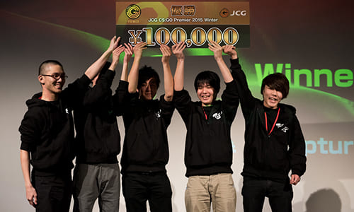 『JCG CS:GO Premier 2015 Winter』でTeam Rapture Playが優勝、大会2連覇を達成
