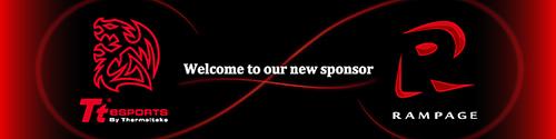 『LJL2016』出場チーム「Rampage」がゲーミングデバイスブランド『Tt eSPORTS』とスポンサー契約