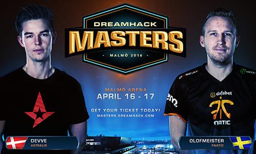 『DreamHack Masters Malmö』CS:GO部門にFnatic、Astralisの招待出場が決定