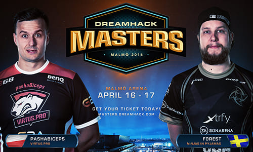 『DreamHack Masters Malmö』CS:GO部門にNiP、Virtus.proの招待出場が決定