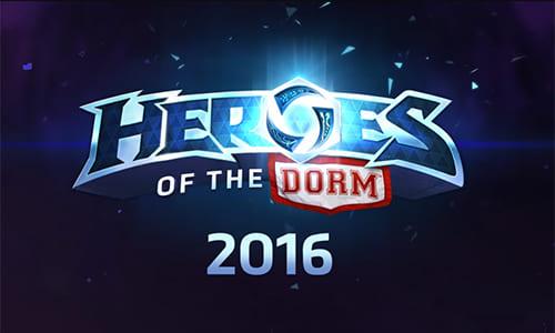 奨学金&賞金総額50万ドル「Heroes of the Storm」の北米大学対抗戦『Heroes of the Dorm 2016』が2月より開幕