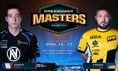 『DreamHack Masters Malmö』CS:GO部門にNatus Vincere、Team EnVyUsの招待出場が決定