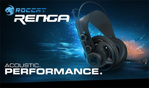 マルチプラットフォーム対応・スタジオ品質のゲーミングヘッドセット『ROCCAT RENGA』が3/11(金)に国内販売開始