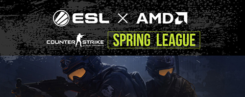 『AMD presents ESL Japan CSGO League Spring Season』が3/25(金)21時より開催
