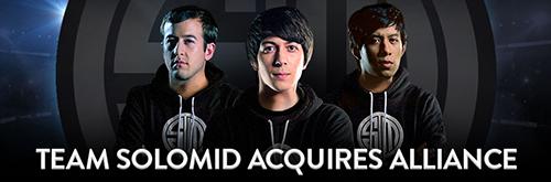 プロゲームチームTeam SoloMidがモバイルMOBA『Vainglory』に進出、世界暫定1位チーム「Ardent Alliance」のメンバーと契約