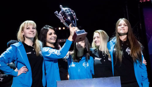 MOBAのトッププロチーム「Team Secret」がCS:GOナンバーワン女性チーム「WRTP」との契約を発表