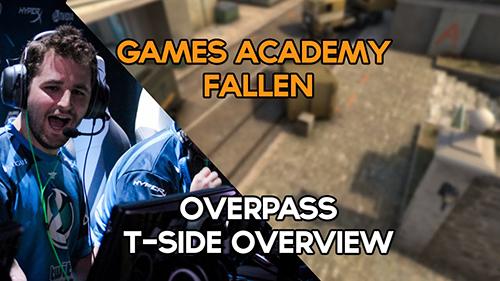 Luminosity CS:GO部門の指揮官FalleN選手によるOverpass Tサイドの攻略動画が公開