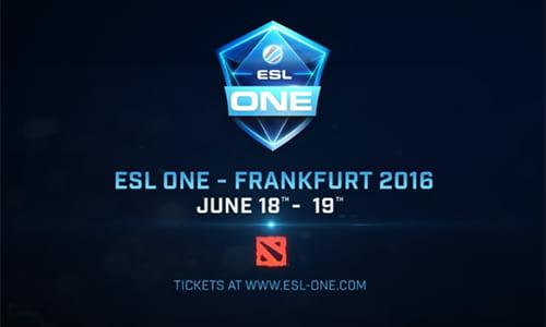 Dota 2大会『ESL One Frankfurt 2016』にAlliance、OGの招待出場が決定