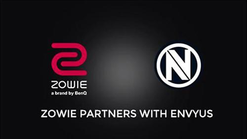 『ZOWIE』がプロゲームチームTeam EnVyUsの公式ゲーミングデバイススポンサーに
