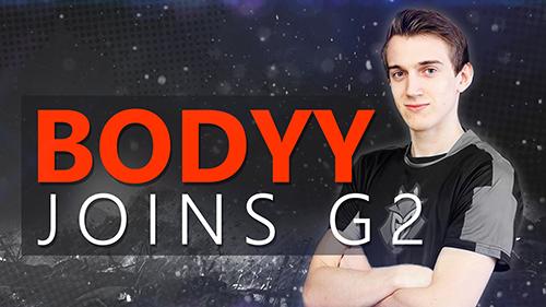 G2Esports CS:GOのインゲームリーダーEx6TenZが脱退、LDLC Whiteのbodyyが加入