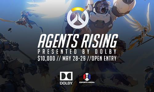 オフラインOverwatch大会『Agents Rising presented by Dolby』が2016年5月末にアメリカEsports Arenaで開催