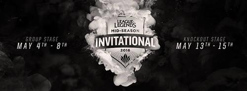 LoL世界大会『Mid-Season Invitational 2016』決勝トーナメントが5/13(金)に開幕