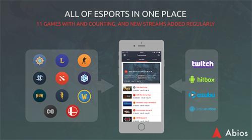 eスポーツカレンダー「Abios」がiOSアプリをリリース