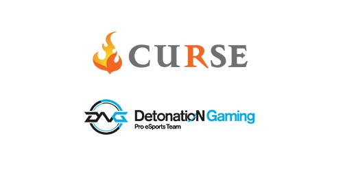 DetonatioN Gamingがゲーマー向けのコミュニケーションツールやメディアを展開する「Curse.inc」とスポンサー契約