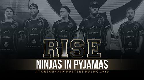 ムービー『RISE - NiP at DreamHack Masters Malmö 2016』