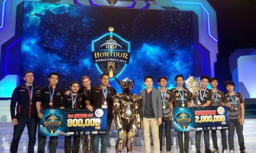 『Heroes of Newerth』世界大会『HoN Tour World Finals 2016』でNeolution eSports.MRRが優勝