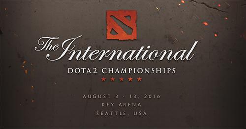 Dota 2世界大会『The International 2016』本戦Day 2が日本時間8/10(水)2時より開始予定