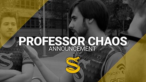 Professor Chaosが『Splyce』CS:GO部門のコーチに就任