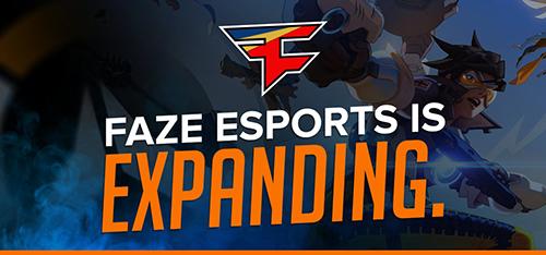 『FaZe Clan』が『Overwatch』部門を設立、CSのレジェンドAWPer・fRoD、QuakeCon CTF王者CLAMPら豪華メンバーが加入