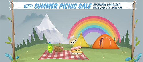 「Steam Summer Picnic Sale」が2016年7月5日(火)まで開催、CS:GOが半額の740円発売中