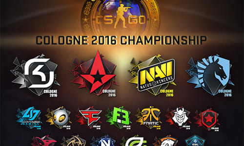 『Counter-Strike: Global Offensive』アップデート(2016-06-24)、「ESL One Cologne 2016」のステッカー追加