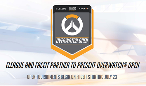 『ELEAGUE』と『FACEIT』が賞金総額$300,000の『The Overwatch Open Tournament』を開催