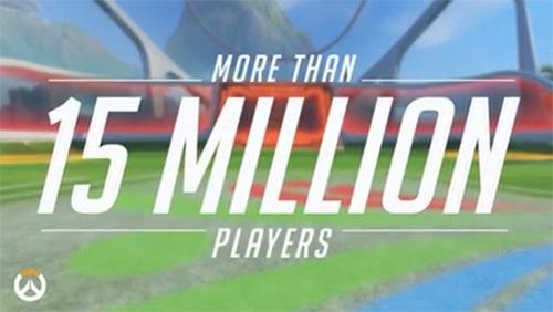 『Overwatch』のプレーヤー数が1,500万を突破、約2ヶ月で500万ユーザー増加