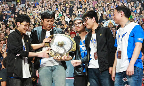 Dota 2世界大会『The International 2016』で中国Wings Gamingが優勝、賞金約9.2億円を獲得