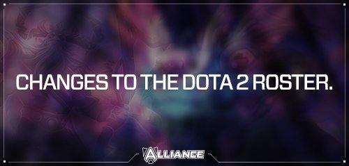 AllianceのDota 2部門のロスターからs4、AdmiralBulldog、Akkeが除名に