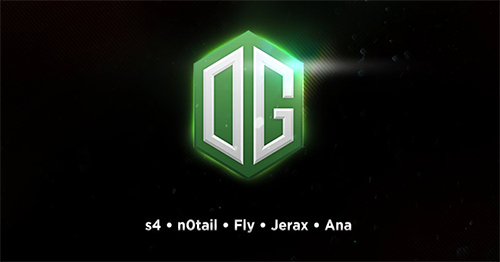 Dota 2チームOGが新体制を発表、s4、JerAx, Anaが加入