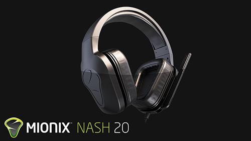 ゲーミングヘッドセット『Mionix NASH 20』が価格改定で約4千円の値下げ、PS4等に接続可能なアダプタを新たに同梱