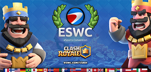 『ESWC 2016』が初のタッチスクリーンゲーム競技に「Clash Royale」を採用