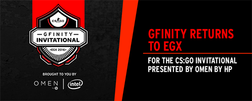 『Gfinity CS:GO Invitational』が賞金総額10万ドルで2016年9月22~25日にイギリスで開催