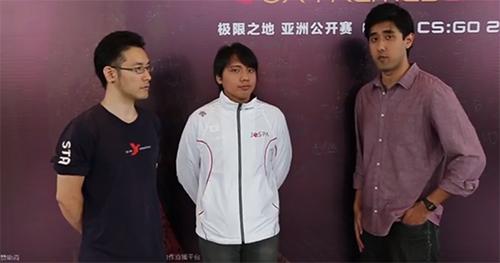 『eXTREMESLAND ZOWIE Asia CS:GO 2016』日本代表Rascal Jesterのインタビュー動画、写真