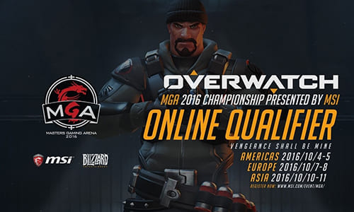 『Overwatch MGA 2016 Championship』各エリアの代表的なオンライン予選出場チーム発表、日本からはDeToNatorが出場