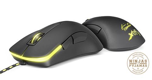 『Xtrfy』が右きき用デザインの光学式ゲーミングマウス『XG-M3-HEATON』を発表
