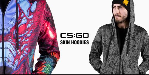 Valve Storeに『CS:GO』のスキンデザインを採用した公式パーカーが登場