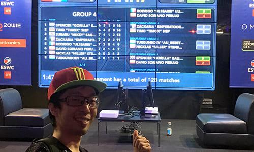 世界大会『ESWC2016』FIFA17部門に挑んだ日本マイキー選手、決勝トーナメントに進出し自身最高となるベスト16に