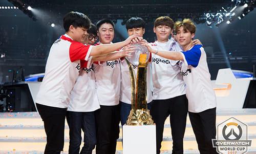 公式国別対抗戦『Overwatch World Cup 2017』で韓国が2年連続優勝を達成