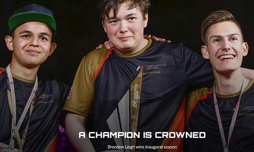 F1公式eスポーツ大会『F1 ESPORTS Series』初代チャンピオンは18歳 Brendon Leigh に