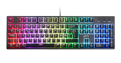 『Xtrfy』がメカニカル感覚のメンブレン式ゲーミングキーボード『K3-RGB』を発表