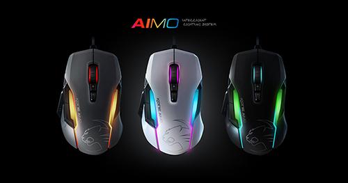 最新のライティングシステム「AIMO」に対応するゲーミングマウス『ROCCAT Kone AIMO』が11月中に日本市場で発売開始