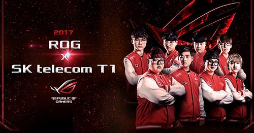 『ASUS ROG』がLoL世界最強チーム『SK telecom T1』とスポンサード契約