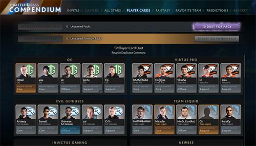 Dota 2世界最高峰のプレーヤーが出場『The International 2017 All-Star』のコミュニティ投票がスタート