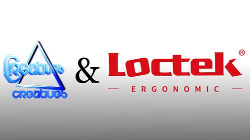 AVAで活動する『Creatives』が『Loctek』とのスポンサード契約を発表