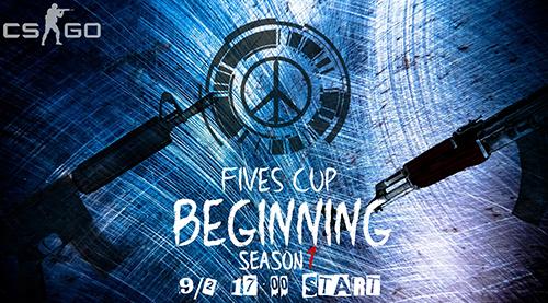 コミュニティ主催CS:GO大会『FIVES CUP BEGINNING Season 1』でOUTLANDISHが優勝