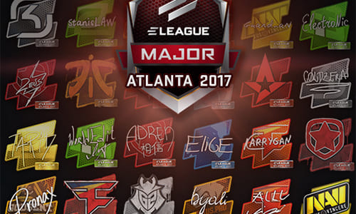 『CS:GO』アップデート(2017-01-12)、『ELEAGUE Major』に向けたチーム・プロゲーマーのサイン入りステッカーアイテム、チームロゴグラフィティ追加