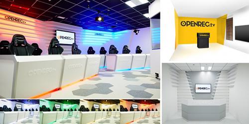 ゲームのライブ配信サイト『OPENREC.tv』がゲーム実況専用スタジオ「OPENREC STUDIO」をリニューアル、『TOPANGA』とのスポンサー契約も発表