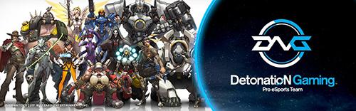 DetonatioN GamingがOverwatch部門が解散を発表、再結成から約2ヶ月